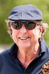 """© Licensed to London News Pictures. 05/06/2015.   London, UK. Eric Idle, Monty Python star was one of the guests taking part in """"Freddie for the Day"""", by playing a special game of celebrity Pétanque, competing for the Londonaise 'Celebrity Pétanque Trophy', ahead of The Londonaise Pétanque festival this weekend in Barnard Park, Islington.  The festival will set a new precedent in the UK with 128 teams taking part in the main tournament.  The event also aims to raise funds for the Mercury Phoenix Trust to fight against AIDS worldwide. Photo credit : Stephen Chung/LNP"""
