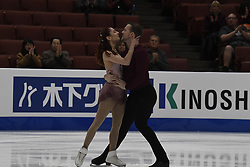 February 8, 2019 - Anaheim, California, U.S - Tarah Kayne and Danny O'Shea from the USA competes in the Pairs Short Program during the ISU - Four Continents Figure Skating Championships, at the Honda Center in Anaheim California, February 5-10, 2019 (Credit Image: © Dave Safley/ZUMA Wire)