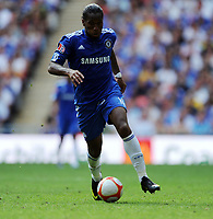 Didier Drogba<br /> Chelsea 2009/10<br /> Chelsea V Manchester United (2-2) 09/08/09<br /> Chelsea Win On Penalties (4-1) During Penalty Shootout<br /> The FA Community Shield 2009 Wembley Stadium<br /> Photo Robin Parker Fotosports International