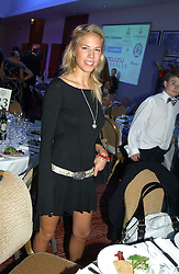 MISS ALICE RUGGE PRICE at the Game Conservancy Jubilee Ball in aid of the Game Conservancy Trust held at The Hurlingham Club, London SW6 on 26th May 2005<br /><br />NON EXCLUSIVE - WORLD RIGHTS