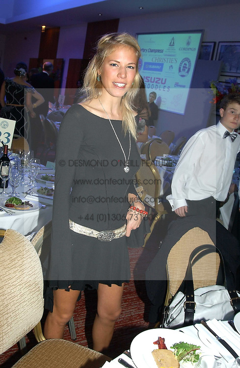 MISS ALICE RUGGE PRICE at the Game Conservancy Jubilee Ball in aid of the Game Conservancy Trust held at The Hurlingham Club, London SW6 on 26th May 2005<br />