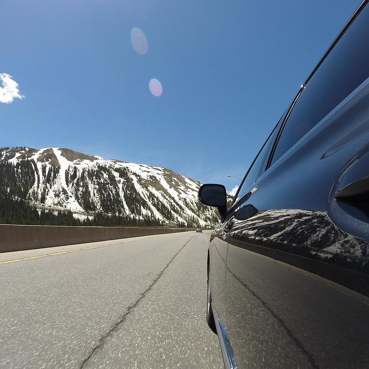 2010 CPO Lexus RX350 en route to Vail Mountain on I-70.