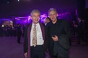 DENNIS STEPHENSON; RICKY BURDETT, The Tanks at Tate Modern, opening. Tate Modern, Bankside, London, 16 July 2012