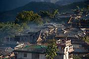 Konyak Naga Hongphoi Village<br /> Konyak Naga headhunting Tribe<br /> Mon district<br /> Nagaland,  ne India