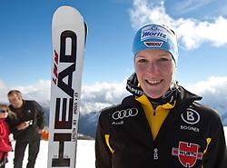 04.10.2010, Rettenbachferner, Soelden, AUT, Medientag des Deutschen Skiverband 2010, im Bild Susanne Riesch. EXPA Pictures © 2010, PhotoCredit: EXPA/ J. Groder