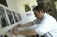 Bogdan Dudko ( 1968 - 2020 ) wydawca i redaktor naczelny legendarnego Pisma Artystyczno-Literackiego KARTKI ukazujacego sie w Bialymstoku od l. 90. XX wieku do 2006 roku fot Michal Kosc / AGENCJA WSCHOD