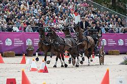 Sandmann Christoph, GER, Amico, Bo Liberator, Fredie, Wanita 5, Wierd<br /> FEI European Driving Championships - Goteborg 2017 <br /> © Hippo Foto - Dirk Caremans