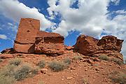 Wukoki Pueblo, Wupatki and Sunset Crater National Monuments, Arizona, USA<br />