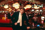 Donald Trump at the Trump Taj Mahal.