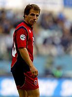 Fotball<br /> Italia 2004/2005<br /> Foto: Graffiti/Digitalsport<br /> NORWAY ONLY<br /> <br /> Roma Stadio Olimpico 28/11/2004<br /> Serie A<br /> Lazio-Cagliari 2-3<br /> Il fantasista del Cagliari Gianfranco Zola