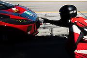 October 1, 2016: IMSA Petit Le Mans, #48 Madison Snow, Paul Miller Racing, Lamborghini Huracán GT3