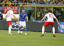 September 7, 2018 - Bologna, Italy - Jorginho during Uefa Nation League 2018 match between Italia v Polonia, in Bologna, on September 7, 2018  (Credit Image: © Loris Roselli/NurPhoto/ZUMA Press)
