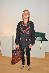 LADY BELLA SOMERSET at a private view of photographs by Jolyon Fenwick 'The Zero Hours Panoramas' 100 Years On: Views From The Parapet of The Somme held at Sladmore Contemporary, 32 Bruton Place, London on 30th June 2016.