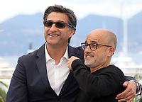 Director Asif Kapadia and Daniel Arcucci at Diego Maradona film photo call at the 72nd Cannes Film Festival, Monday 20th May 2019, Cannes, France. Photo credit: Doreen Kennedy