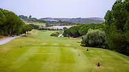 23-10-2018 Almenara Golf Club in Sotogrande, Cádiz, ontworpen door Dave Thomas.<br /> ALMENARA: Hole 3 Los Lagos