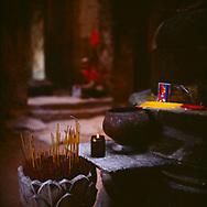 Offrandes - Temple de Preah Khan, Cambodge, 2007