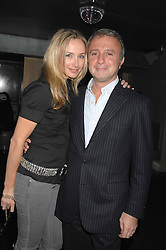 RAFFI & JO MANOUKIAN at a party hosted by Kitts nightclub in honour of Ed Godrich to than him for his work on designing the club in Sloane Square, London on 1st March 2007.<br /><br />NON EXCLUSIVE - WORLD RIGHTS