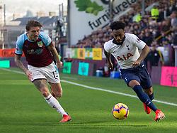 Jeff Hendrick of Burnley (L) and Danny Rose of Tottenham Hotspur in action - Mandatory by-line: Jack Phillips/JMP - 23/02/2019 - FOOTBALL - Turf Moor - Burnley, England - Burnley v Tottenham Hotspur - English Premier League