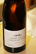 Bottle of Mercurol Coteau des Pends 2003 from Charles Tardy.
