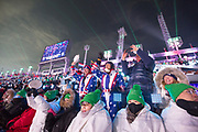 Team America during the 2018 Winter Olympic Games Opening Ceremony at Pyeongchang Olympic Stadium  on 9th February 2018 in Pyeongchang, South Korea