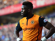 Bakary Sakho in action during the Sky Bet Championship match between Wolverhampton Wanderers and Leeds United at Molineux, Wolverhampton, England on 6 April 2015. Photo by Alan Franklin.