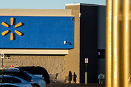 Shadows of customers are casted on the Cielo Vista Walmart store in El Paso, Texas, Thursday, July 30, 2020.<br /> <br /> Patrick Crusius, the accused gunman, drove from the Dallas suburb of Allen to El Paso, Texas, on the early morning of August 3, 2019. Nine hours and over 650 miles later, he would open fire at the Walmart, ultimately killing 23 people and injuring nearly two dozen more in what would later be known as the deadliest attack on Latinos in recent American history.