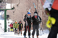 Eastern Cup Waterville Valley Slalom 1st run March 28, 2011.