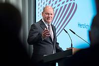 09 MAY 2019, BERLIN/GERMANY:<br /> Olaf Scholz, SPD, Bundesfinanzminister, haelt eine Rede, Wirtschaftskonferenz, Wirtschaftsforum der SPD, Kalkscheune<br /> IMAGE: 20190509-01-220