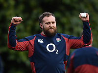 Rugby Union - 2020 Six Nations Championship - England Training Session & Press Conference pre-Ireland<br /> <br /> England's Tom Dunn, at Pennyhill Park Hotel.<br /> <br /> COLORSPORT/ASHLEY WESTERN