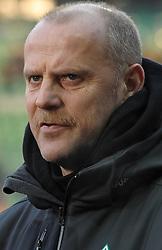 18.12.2010, Weserstadion, Bremen, GER, 1.FBL, Werder Bremen vs 1. FC Kaiserslautern, im Bild Thomas Schaaf (Trainer Werder Bremen) im Sky Sport Interview   EXPA Pictures © 2010, PhotoCredit: EXPA/ nph/  Frisch       ****** out ouf GER ******