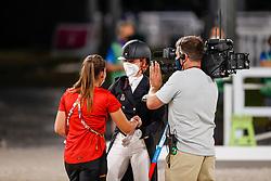 Von Bredow-Werndl Jessica, GER, Von Bredow Max<br /> Olympic Games Tokyo 2021<br /> © Hippo Foto - Stefan Lafrentz<br /> 27/07/2021