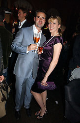JIMMY CARR and KAROLINE COPPING at a party hosted by Dom Perignon at Sketch, Conduit Street, London on 18th October 2006.<br /><br />NON EXCLUSIVE - WORLD RIGHTS