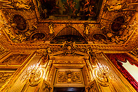 Grand Salon, Apartment, Napoleon III, Louvre Museum, Paris, France.