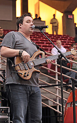 22 December 2013:  Marc Broomby. Brushville (formerly Brushfire) plays as the entertainment and pep band for a men's NCAA basketball game between the Blue Demons of DePaul and the Redbirds of Illinois State at Redbird Arena in Normal IL