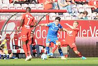 Fotball , 25. august 2019 , Eliteserien ,  Brann - Tromsø  <br /> <br /> Taijo Teniste , Brann<br /> Aidan Barlow , TIL