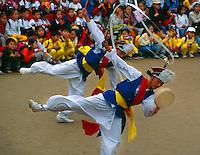 Farmer's Dance (celebrating the good harvest), Korean Folk Village, near Suwon, South Korea