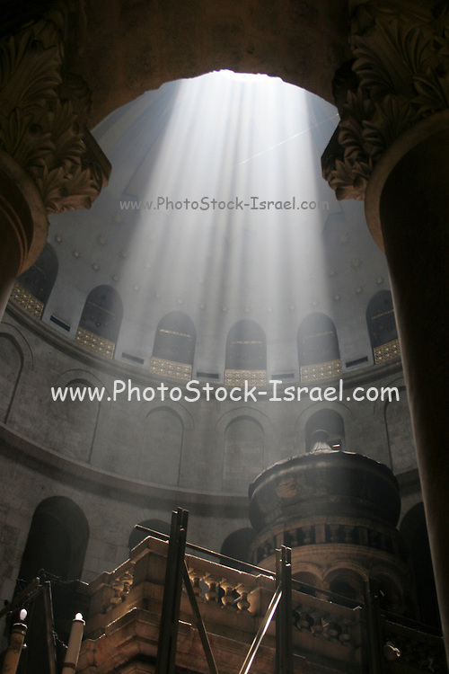 Israel, Jerusalem Old City, the Church of the Holy Sepulchre