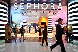Sephora store in  Dubai Mall in Dubai United Arab emirates