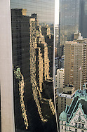 New York. Elevated view on 57th street Solow building and legion tower on 57th street , Midtown Manhattan  New York  United States   /  le solow building et l immeuble de la legion, sur la 57 em rue , midtown Manhattan  New York  Etats unis