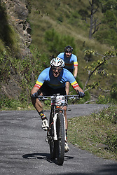 October 3, 2018 - Shimla, India - Alex Kruger  of South Africa competes at the 14th edition of the Hero MTB Himalaya mountain bike race in the northern Indian state of Himachal Pradesh on 3rd October, 2018. The 14th edition of the annual cross country race is taking place over eight stages in the foothills of the Himalaya, started in Shimla on September 28, 2018 and finishing in Dharamshala on October 6,2018. (Credit Image: © Indraneel Chowdhury/NurPhoto/ZUMA Press)