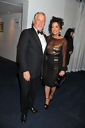 SIMON KELNER and NANCY DELL'OLIO at the GQ Men of The Year Awards 2012 held at The Royal Opera House, London on 4th September 2012.