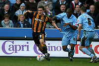 Photo: Pete Lorence.<br />Coventry City v Hull City. Coca Cola Championship. 03/03/2007.<br />Nicky Forster on the attack.