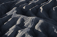 Abstract patterns in badlands at Zabriskie Point, Death Valley National Park, California, USA