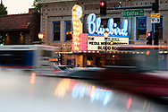 The venue for the screening of Blood Road at the Bluebird Theater in Denver, CO, USA on 27 June, 2017.