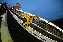 21.11.2014, Vogtland Arena, Klingenthal, GER, FIS Weltcup Ski Sprung, Klingenthal, Herren, HS 140, Qualifikation, im Bild Noriaki Kasai (JPN) // during the mens HS 140 qualification of FIS Ski jumping World Cup at the Vogtland Arena in Klingenthal, Germany on 2014/11/21. EXPA Pictures © 2014, PhotoCredit: EXPA/ Eibner-Pressefoto/ Harzer<br /> <br /> *****ATTENTION - OUT of GER*****