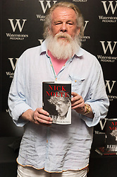 © Licensed to London News Pictures. 23/03/2018. American actor NICK NOLTE attends a Waterstones book signing for his autobiography Rebel, My Life Outside The Lines, London, UK. Photo credit: Ray Tang/LNP