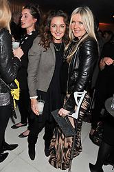 Left to right, NATASHA CORRETT and AMANDA WAKELEY at the Rodial Beautiful Awards 2013 held at St Martin's Lane Hotel, St.Martin's Lane, London on 19th March 2013.