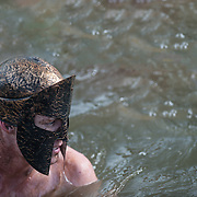 The  2012 Charlotte North Carolina Spartan Race was held at the US National Whitewater Center. Spartans competed in the 3 mile race that tested their endurance and athletic abilities.