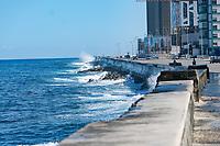 Malecon, Havana, Cuba 2020 from Santiago to Havana, and in between.  Santiago, Baracoa, Guantanamo, Holguin, Las Tunas, Camaguey, Santi Spiritus, Trinidad, Santa Clara, Cienfuegos, Matanzas, Havana
