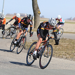 Energiewachttour Stage 5 Uithuizen a hard day working for Olympica track champion Laura Trott